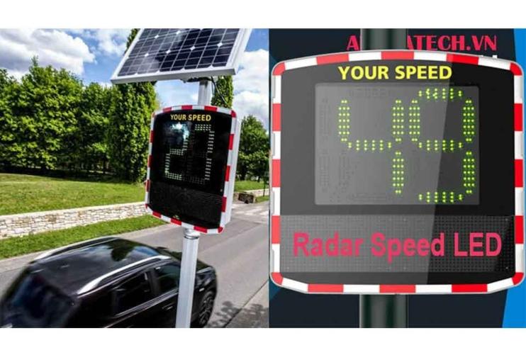 Biển báo Tốc độ Radar led hiệu quả chất lượng