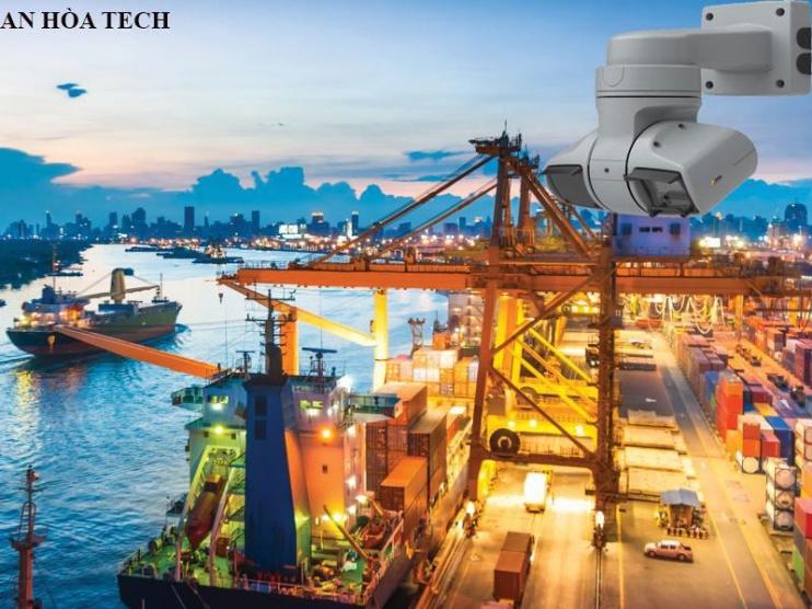 Camera giám sát cảng biển tầm quan sát bán kính 15km