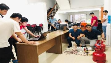 Đội ngũ kỹ sư cho ra đời sản phẩm IoT smartgas
